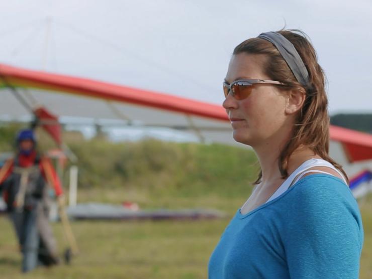 Deltavliegen -Instructeur Heleen van den Bos - Randonaero